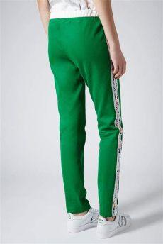 green adidas tracksuit bottoms topshop tracksuit bottoms by x adidas originals in green lyst