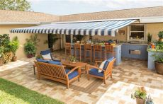sunsetter installation motorized sunsetter motorized retractable awning 16 x 10 ft outdoor deck patio awnings ebay
