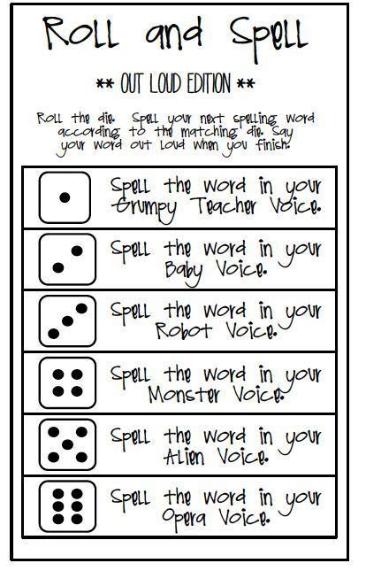 spelling game remember words spelling words spelling activities