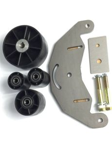 belt grinder 2x72 wheel set for knife grinders with steel d plate ebay - Belt Grinder 2x72 Wheel Set For Knife Grinders