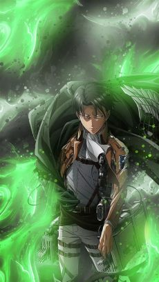 attack on titan levi wallpaper android levi attack on titan wallpapers wallpaper cave