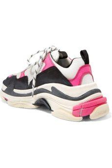 balenciaga pink white triple s sneakers balenciaga pink white black s s sneakers sneakers size eu 39 approx us 9