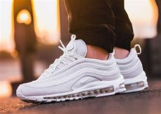 air max 97 summit white on feet on foot nike summit white snake air max 97 eu kicks sneaker magazine sneakers