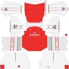 dls 18 kit arsenal kits league soccer kit arsenal dls 16