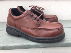 wing shoes mens 6659 2 steel toe oxford safety work s shoes sz 7 5d ebay - Red Wing Oxford Work Shoes