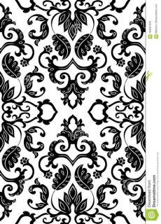 filigree floral pattern stock vector illustration of flower 103057976 - Filigree Wallpaper Pattern
