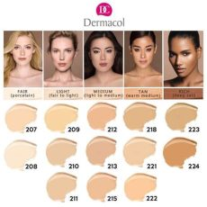 dermacol foundation shades for asian skin dermacol makeup cover foundation cod end 1 10 2019 5 15 pm