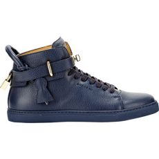 buscemi sneakers buscemi 100mm leather sneakers in blue for lyst