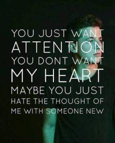 attention lyrics quotes pin by on lyrics okay mainly lyrics attention puth lyrics