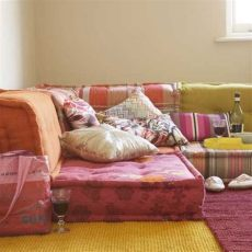 get the look bohemian floor cushions searching for synergy - Floor Couch Diy