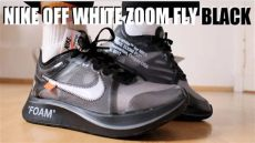 nike off white zoom fly black on feet nike white zoom fly black review on sizing