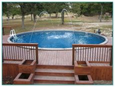 above ground pool wooden deck kits above ground pool wood deck kits 2 home improvement