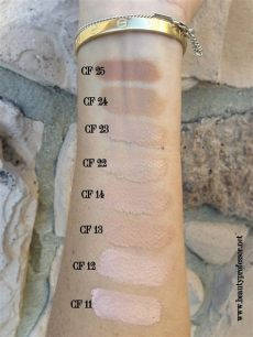 sensai cellular performance cream foundation kanebo sensai cellular performance foundation us version swatches of every shade