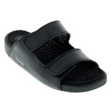 kenkoh sandals reviews mens kenkoh sport black leather sandal happyfeet