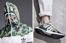 bape x adidas puffer jacket replica bape x adidas originals puffer hoodie and track jacket hypebae