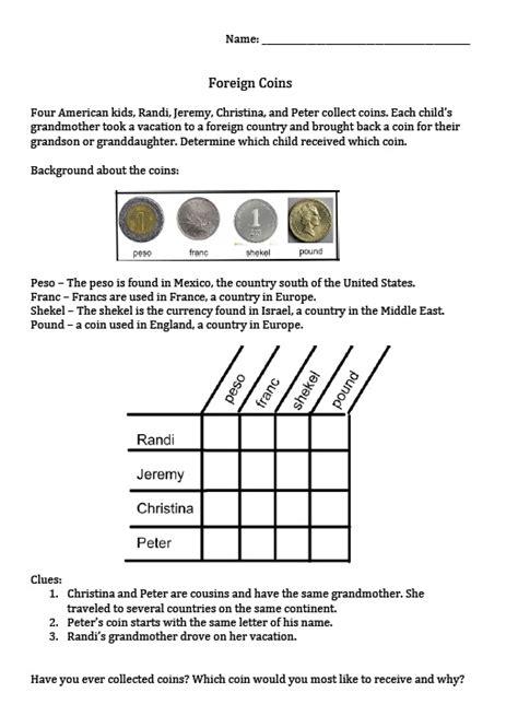 teacher entrepreneurs iii money puzzle package