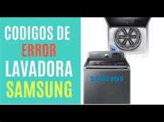 codigo de lavadora samsung codigos de eeror de la lavadora samsung