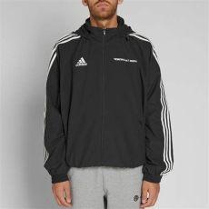 gosha rubchinskiy adidas woven jacket black gosha rubchinskiy x adidas woven hooded jacket black end