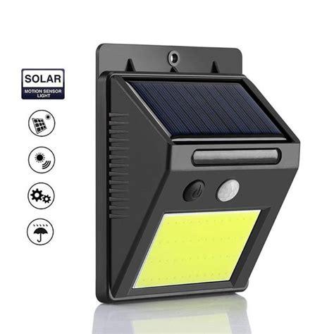 wall mount solar light smart ir motion sensor