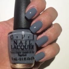 opi blue grey color opi 50 shades of gray collection swatches review the polished pursuit