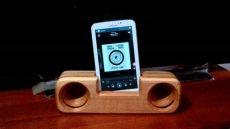 como hacer parlantes de madera wooden lifier lificador de madera