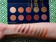 zoeva premiere eyeshadow palette review swatchfest 6 zoeva premiere palette
