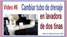 como usar una lavadora de dos tinas c 243 mo cambiar el tubo de drenaje roto en una lavadora de 2 tinas