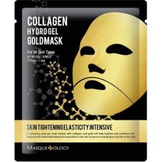 masqueology collagen hydro gel gold mask masqueology collagen hydro gel gold mask 0 98 oz walmart