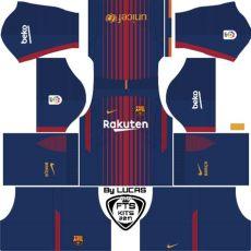 barcelona home kit dls barcelona kits fts dls 2017 18 kits fts