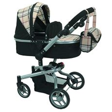 me 2 in 1 deluxe doll stroller 32 high import it all - Mommy And Me Doll Stroller Extra Tall