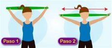 ejercicios con ligas cortas para brazos ejercicios con bandas el 225 sticas de brazos ejercicios para tonificar brazos ejercicios con