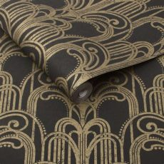 gold and silver art deco wallpaper deco black and gold wallpaper grahambrownau