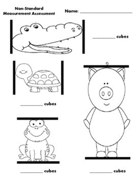 Measurement Worksheets Kindergarten Non Standard.html