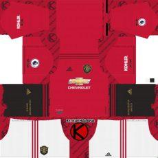 kit adidas dream league soccer 2019 manchester united 2019 2020 kit league soccer kits kuchalana