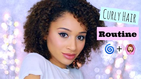 Curly Hair Routine For My.html