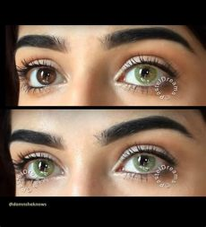 freshtone contact lenses review freshtone naturals icy green pastel dreams