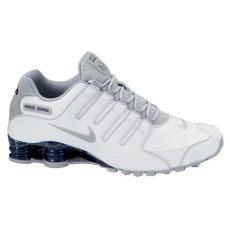 nike shox nz eu herren schuhe sneakers turnschuhe freizeitschuhe wei 223 grau ebay - Nike Shox Herren Weiss