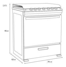 medidas de estufas mabe 6 quemadores estufa de 6 quemadores gris mabe em7646bsiso nueva 7 193 25 en mercado libre