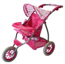 carriola para mu 241 ecas ideal para ni 241 as rosa 3 llantas 875 00 en mercado libre - Carriolas Para Ninas