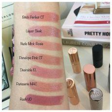 tilbury penelope pink k i s s i n g lipstick dupes all in the blush - Charlotte Tilbury Penelope Pink Dupe