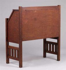 harden furniture co dropfront desk c1910 california historical design - Harden Desk Prices
