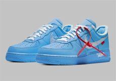 nike off white shoes air force white nike air 1 mca blue ci1173 400 sneakernews