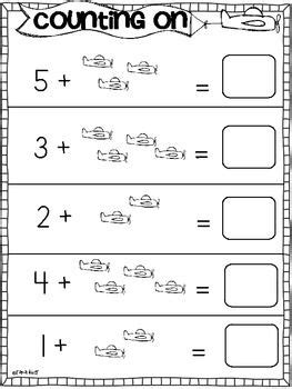 addition practice sheets counting common core math math