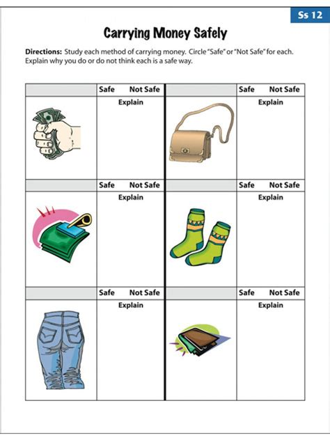 amusing empowered life skills worksheets related appealing teaching
