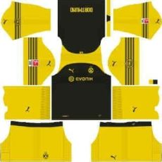 kit dls dortmund kits borussia dortmund league soccer 2019 dls mejoress