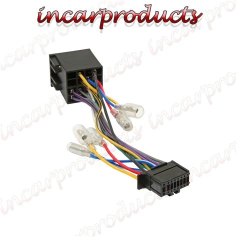 pioneer 16 pin iso wiring harness connector adaptor