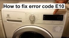 how to fix electrolux aeg error code e10 - Aeg Lavamat E10 Error