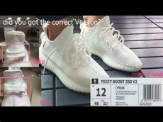 yeezy boost 350 cream white vs triple white comparison real vs yeezy boost 350 v2 quot white white quot uv test hd review