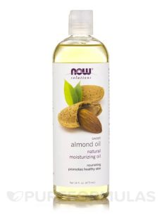 now solutions almond oil now 174 solutions sweet almond 16 fl oz 473 ml