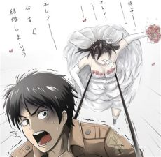 attack on titan mikasa and eren manga attack on titan eren and mikasa mikasa ackerman msbeautifulnightmare 127d 12h 18m 44s